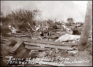 Damage greensburg border