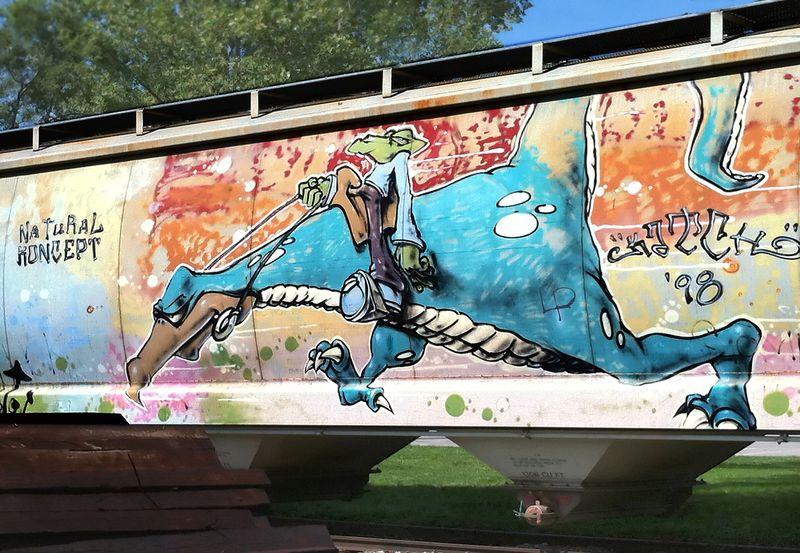 Grafiti train